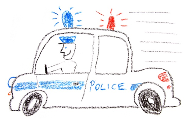 police-car-drawing